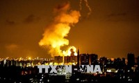 Israël riposte à une pluie de roquettes depuis Gaza