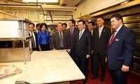 Vuong Dinh Huê termine sa visite aux Etats-Unis