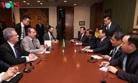 Vuong Dinh Huê en visite officielle au Brésil