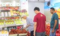 Les litchis vietnamiens sont appréciés en Malaisie