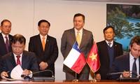 Le vice-Premier ministre Vuong Dinh Huê termine sa visite au Chili