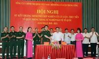Coopération entre le PCV et l'Armée populaire du Vietnam
