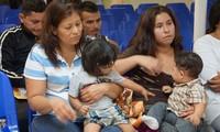 Un juge suspend les expulsions de familles de migrants réunies