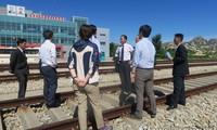Coopération ferroviaire intercoréenne : inspection  sur le segment Kaesong-MDL