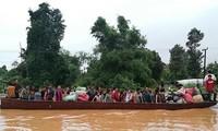 Laos: Des centaines de disparus après l'effondrement d'un barrage