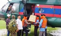 Effondrement d'un barrage au Laos: les Vietnamiens viennent en aide aux sinistrés