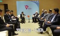 Pham Binh Minh rencontre ses homologues japonais et iranien