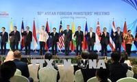 Conférence entre les chefs de la diplomatie de l'ASEAN et leurs partenaires