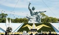 Nagasaki : commémoration des 73 ans du bombardement nucléaire américain