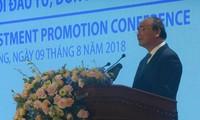 Tiên Giang : Nguyên Xuân Phúc à la conférence de promotion des investissements de 2018