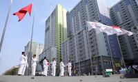 ASIAD 2018: cérémonie de hissement du drapeau du Vietnam