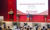 Clôture de la 30e conférence nationale sur la diplomatie