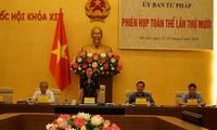 Session plénière de la Commission judiciaire de l'Assemblée nationale