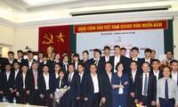 Départ des Vietnamiens pour le 12e concours pour métier d'ingénieurs de l'ASEAN