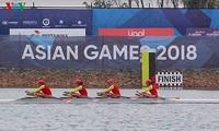 ASIAD 2018 : récompense de VOV à la médaille d'or du rowing féminin