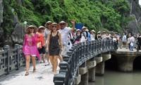 Plus de 1,3 million de touristes étrangers ont foulé le sol vietnamien en août