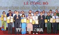 Publication d'un livre d'or sur l'innovation au Vietnam en 2018