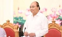 Le PM travaille avec les responsables de Quang Ninh