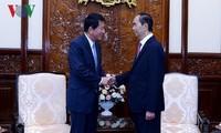 Trân Dai Quang reçoit l'ambassadeur spécial Vietnam-Japon