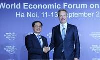 WEF-ASEAN 2018 : conférence de presse conjointe