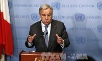 """Le chef de l'ONU salue l'accord sur Idleb, un """"sursis"""" pour les civils"""