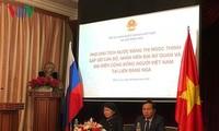 Dang Thi Ngoc Thinh rencontre la communauté vietnamienne en Russie