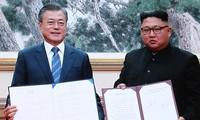 Sommet intercoréen: Une déclaration commune pour la paix