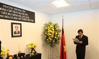 Cérémonie en mémoire du président Trân Dai Quang à New York