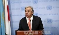 Le changement climatique est une priorité absolue, selon le chef de l'ONU