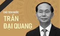 Décès du président Trân Dai Quang: Messages de condoléances