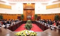 Des représentants du Conseil de promotion de la diplomatie populaire du Japon au Vietnam