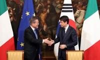 Séoul et Rome mettent à niveau de leurs relations diplomatiques