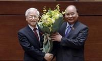 L'élection de Nguyên Phu Trong vue par la presse étrangère