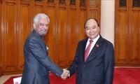 Nguyên Xuân Phuc reçoit le coordinateur permanent de l'ONU au Vietnam