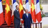 Entretien Nguyên Xuân Phuc-Édouard Philippe