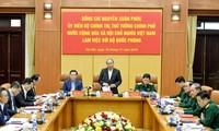 Nguyên Xuân Phuc travaille avec le ministère de la Défense