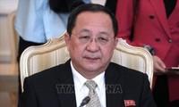 Visite prochaine en Chine du ministre nord-coréen des Affaires étrangères