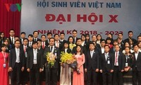 Clôture du 10e congrès national de l'Association des étudiants vietnamiens