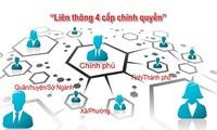 Les efforts pour accélérer l'édification de l'e-gouvernement