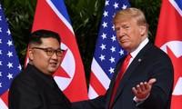 """Washington espère un sommet Trump-Kim """"peu après le Nouvel An"""""""