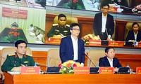 Vu Duc Dam à une conférence sur la recherche d'ossements de soldats