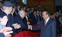 Nguyên Xuân Phuc à la conférence-bilan de 2018 de PetroVietnam