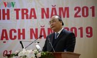 Le Premier ministre à la réunion-bilan des inspecteurs