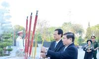 Hô Chi Minh-ville: hommages aux rois Hùng et aux morts pour la Patrie
