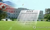 Le Rodong Sinmun accuse Séoul de faire augmenter la tension militaire