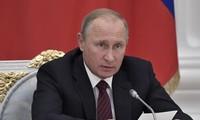 Vladimir Poutine veut renforcer la capacité d'armement de la Russie