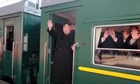 La KCNA annonce le départ de Kim Jong-un vers Hanoï