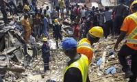 Nigeria: au moins 8 morts dans l'effondrement d'un immeuble à Lagos