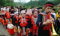 Le phua chuông des Dao rouges