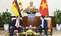 Un ministre des Affaires étrangères du Brunei en visite au Vietnam